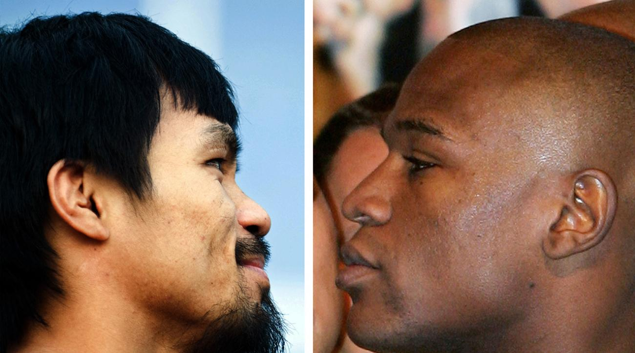 pacquiao mayweather may fight vegas