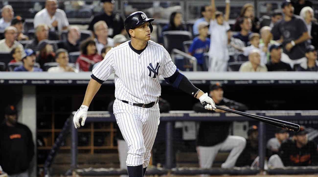 a rod third base yankees