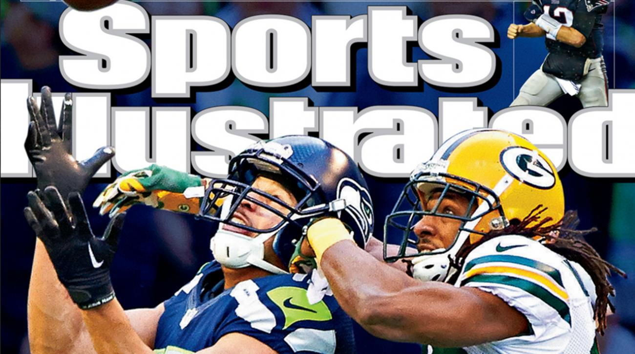Seahawks' NFC Championship comeback featured on cover of Sports Illustrated