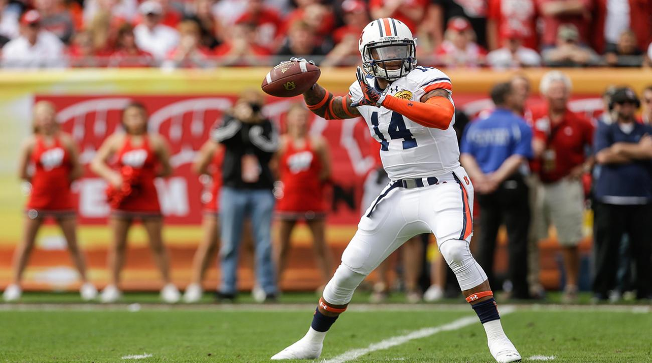 Auburn QB Nick Marshall to enter NFL Draft as CB