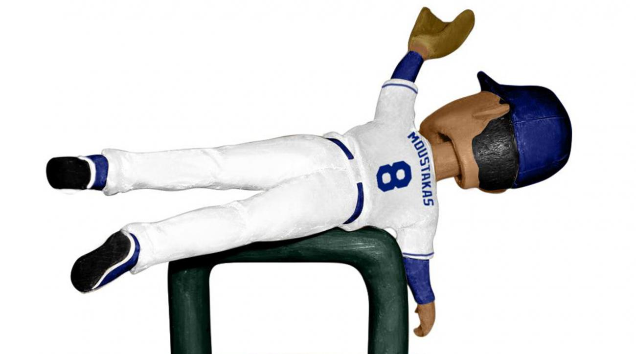 Kansas City Royals unveil playoff-inspired bobbleheads