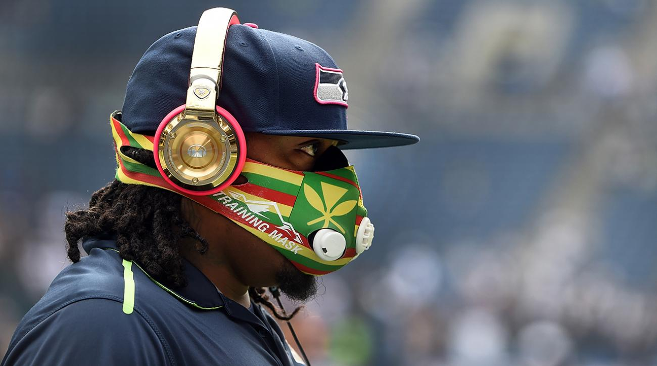Marshawn Lynch: The story behind the elevation training mask IMG
