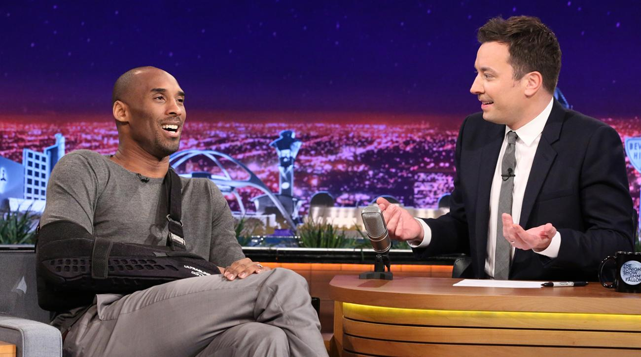 Kobe and Jimmy Fallon reminisce about late-night beer run