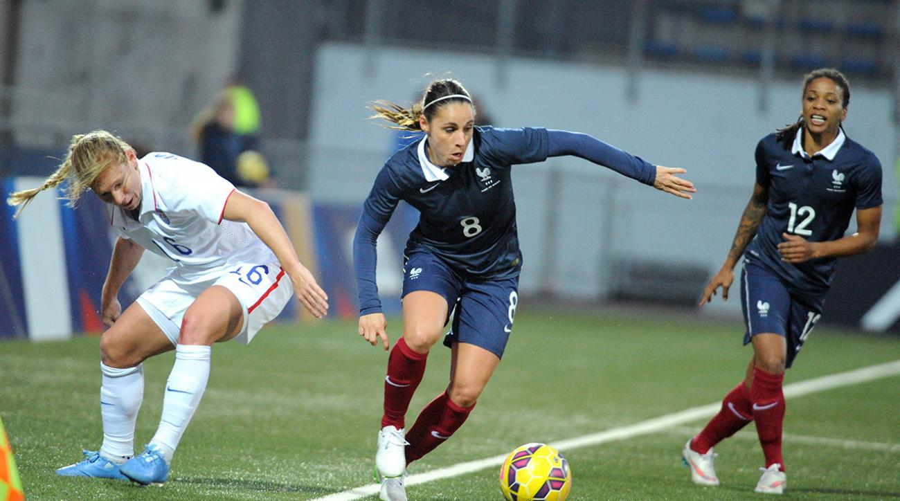 USWNT loses to France in first match without Hope Solo