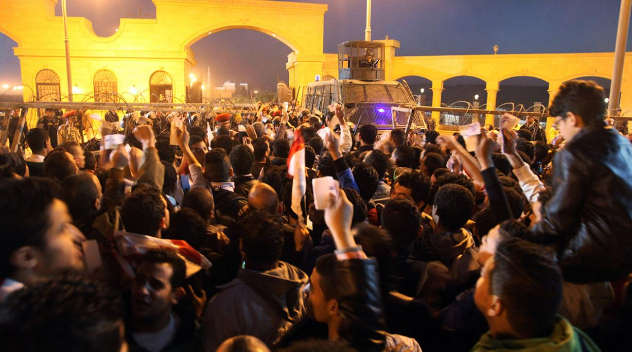 At least 20 people killed in Egypt soccer riot