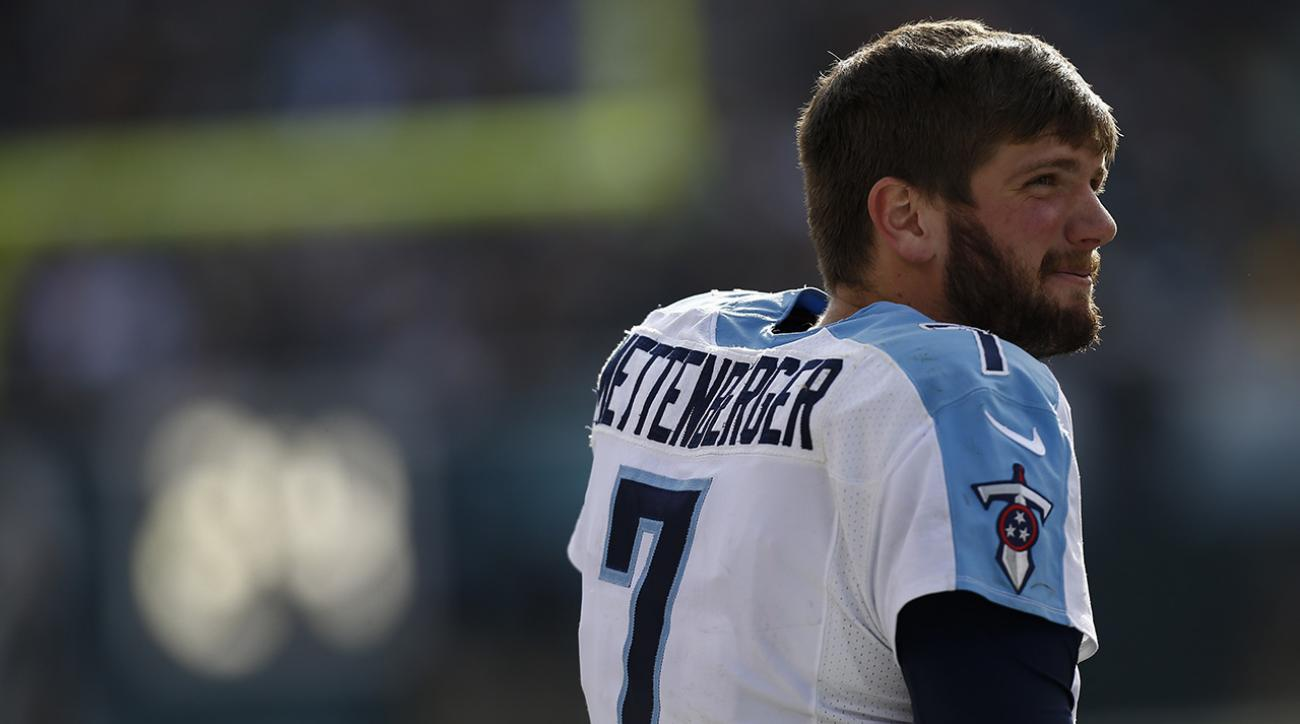 Titans GM talks up Zach Mettenberger, may not draft QB at No. 2