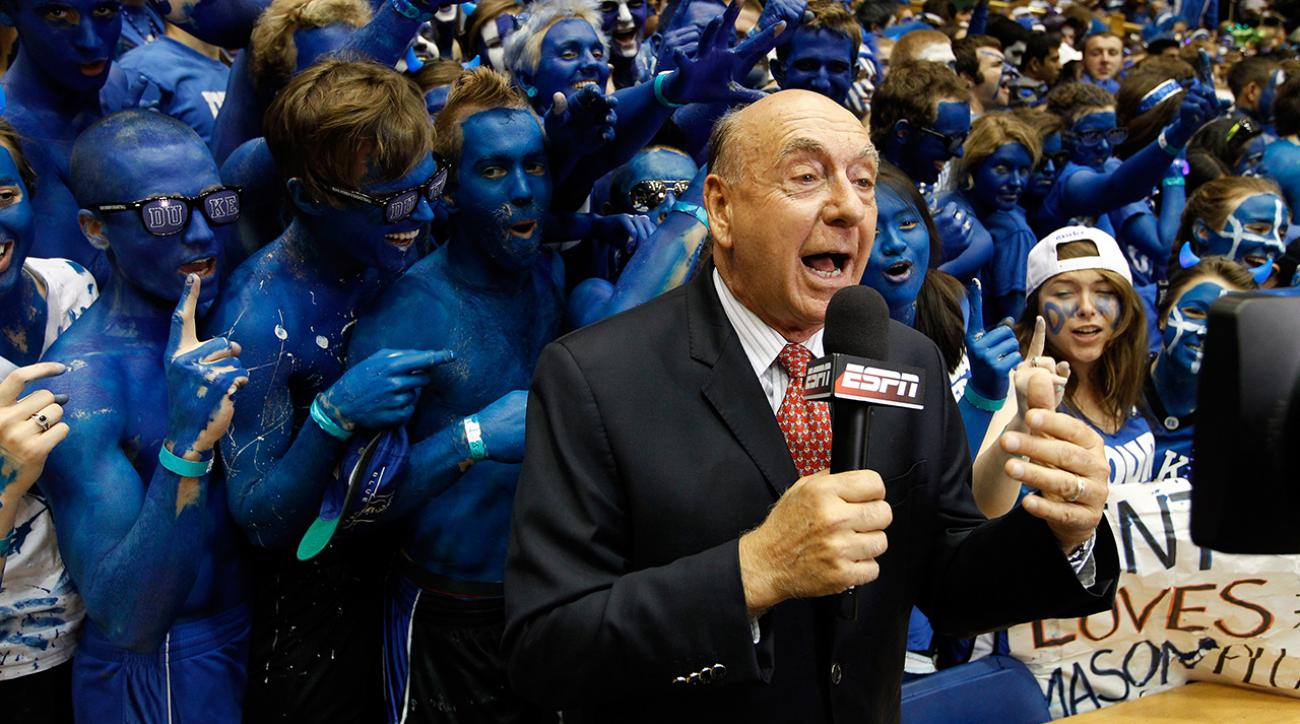 ESPN pulls Dick Vitale for Duke-UNC game