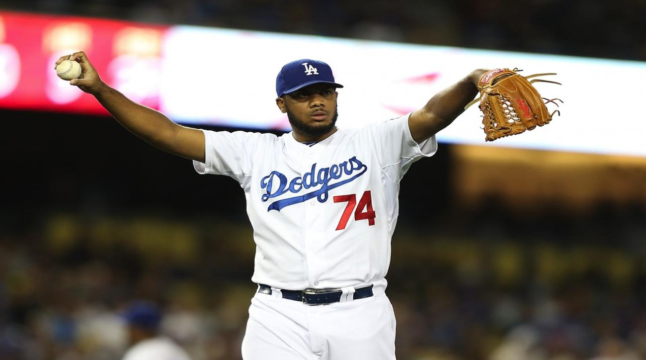 kenley jansen dodgers out