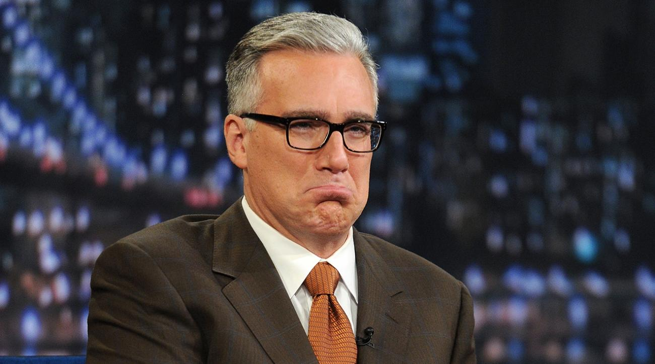Olbermann taken off air for the week after negative Penn State tweets