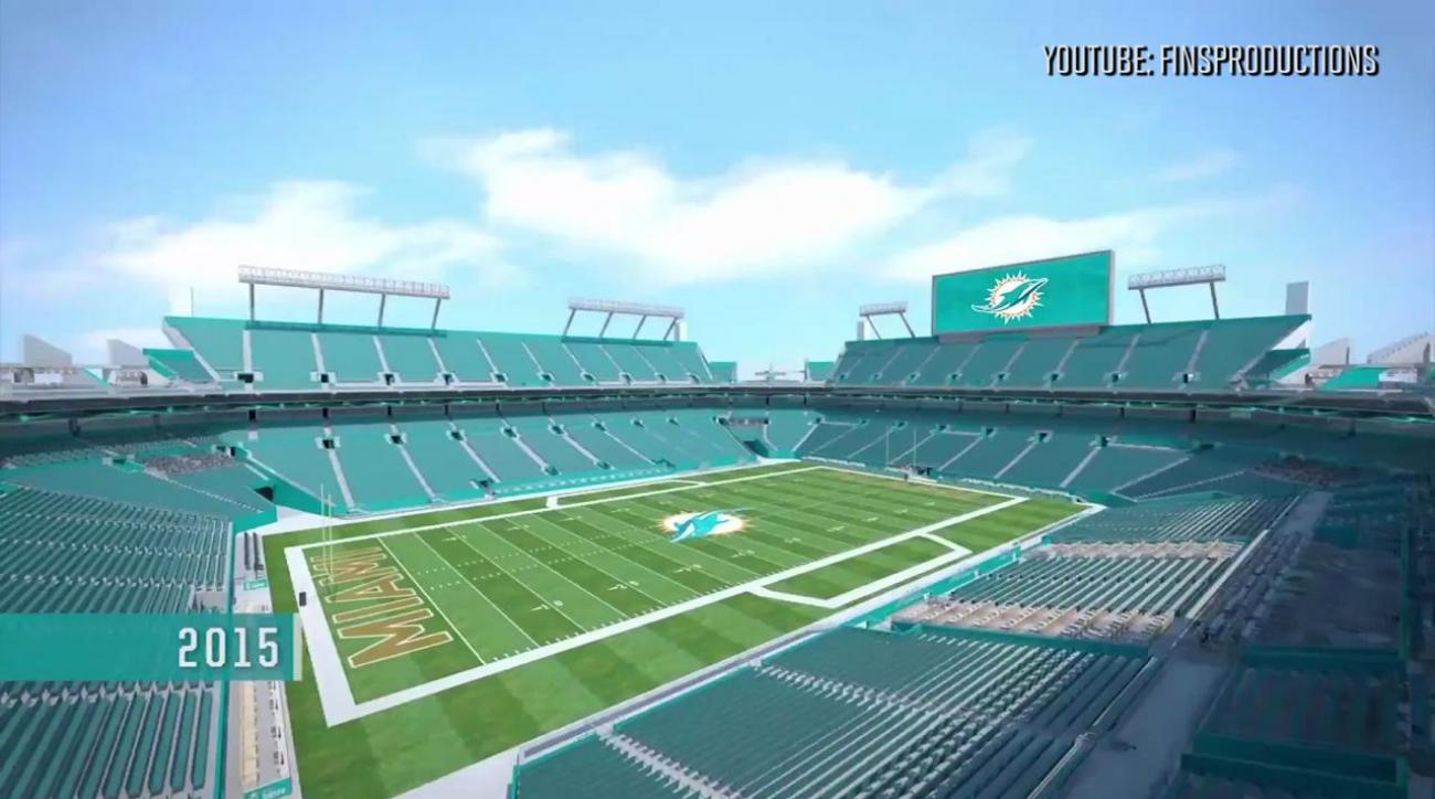Dolphins reveal stadium renovations in video
