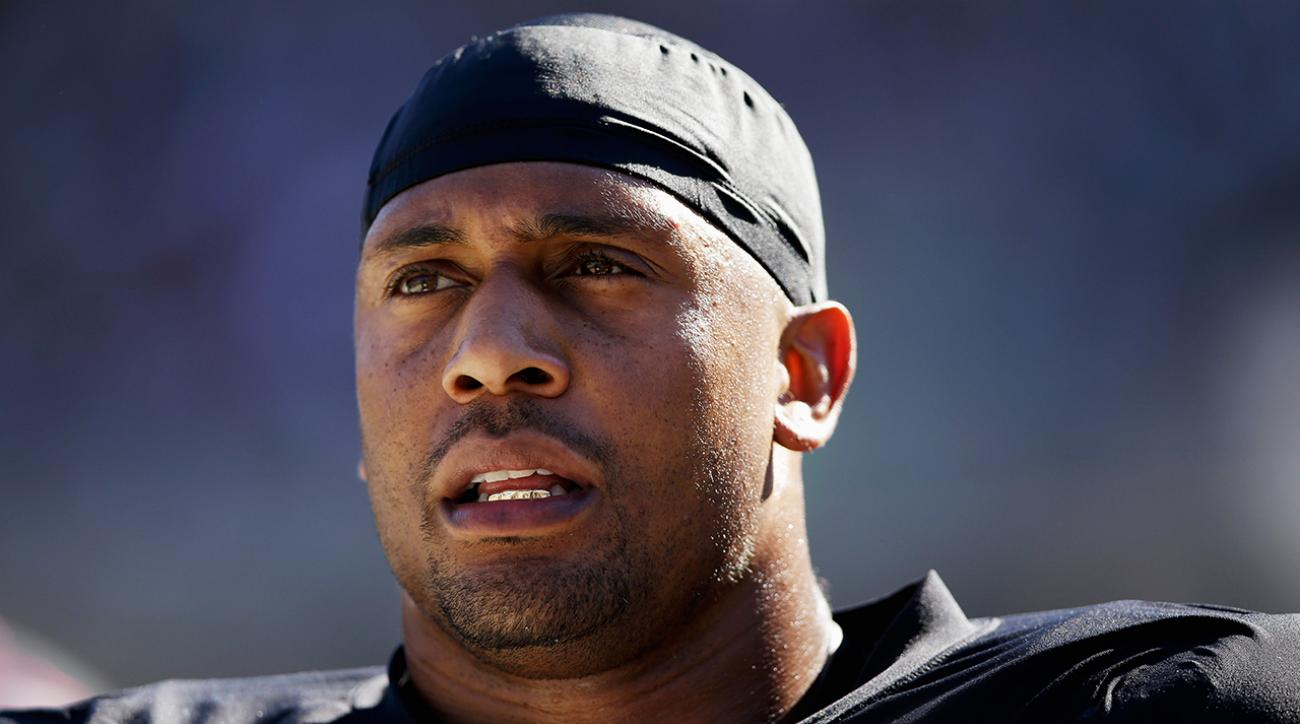 Report: Raiders to cut ties with LaMarr Woodley