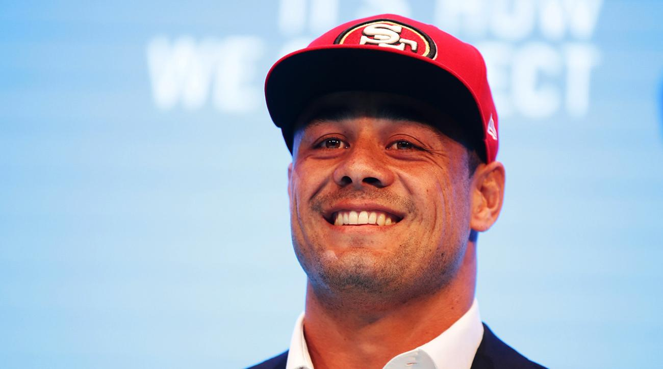 49ers sign Australian rugby player Jarryd Hayne