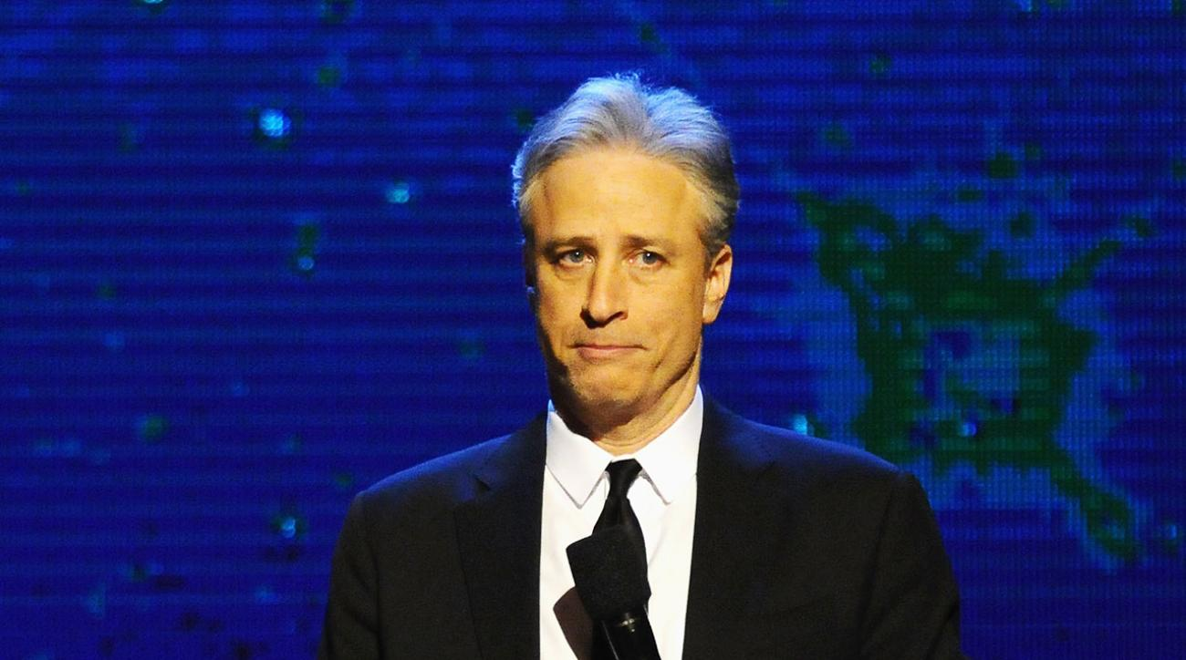 Jon Stewart appears on WWE Monday Night Raw