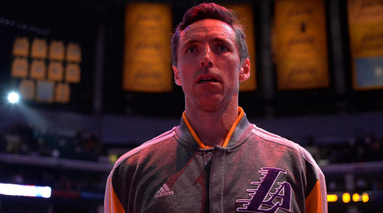steve nash lakers retirement