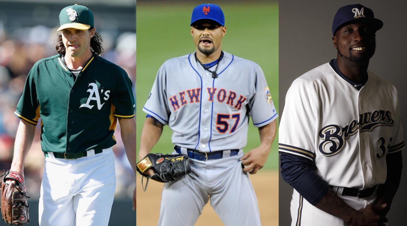 Three aging pitchers returning from injury IMG