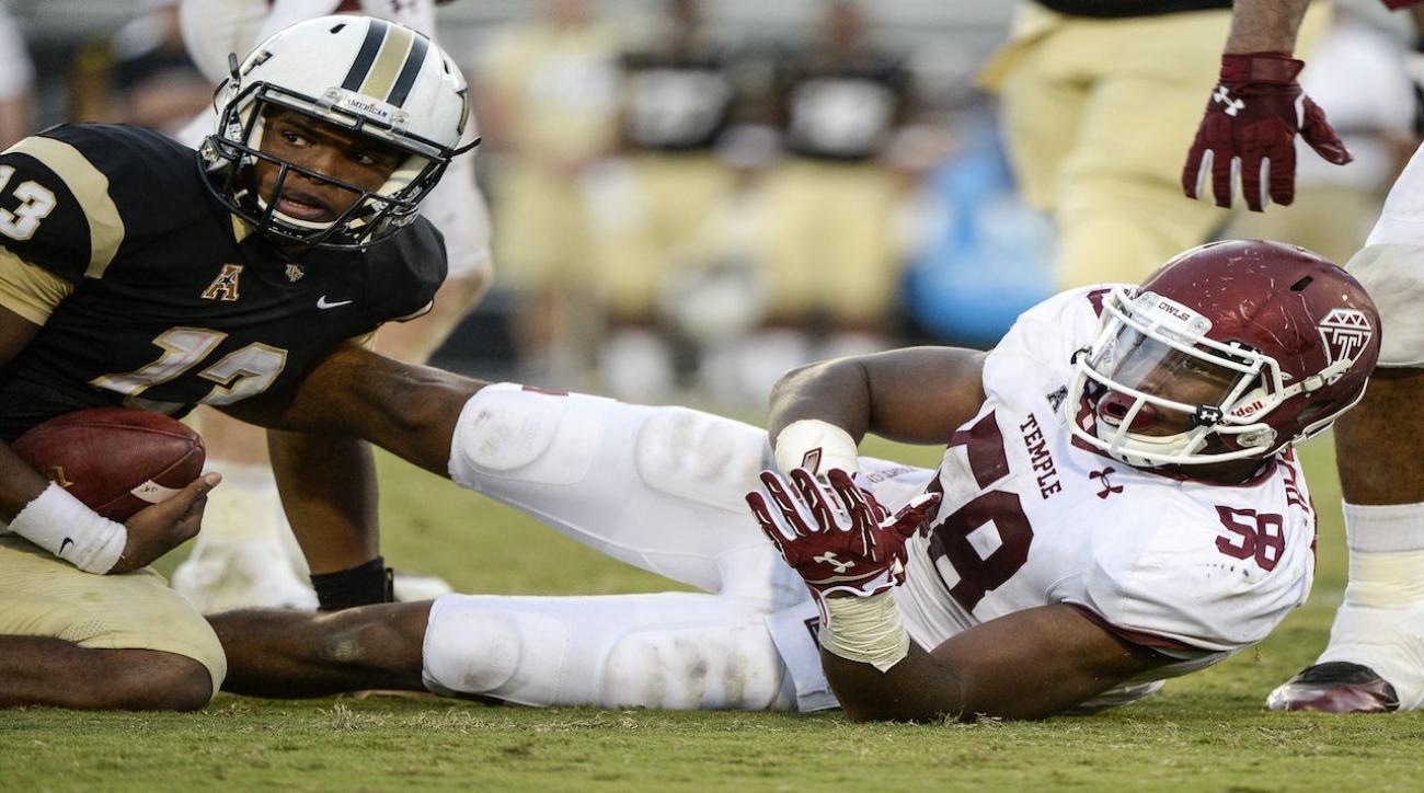 Temple University suspends 2 football players following arrest