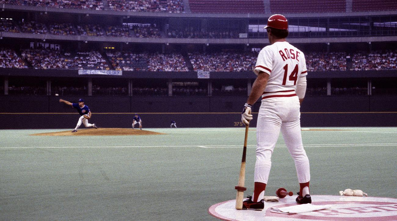 Does Pete Rose deserve another chance to return to baseball? IMG