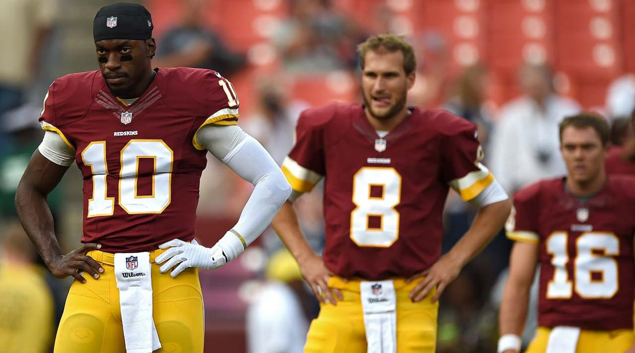 Redskins' Gruden: Not ruling out drafting QB with No. 5 pick