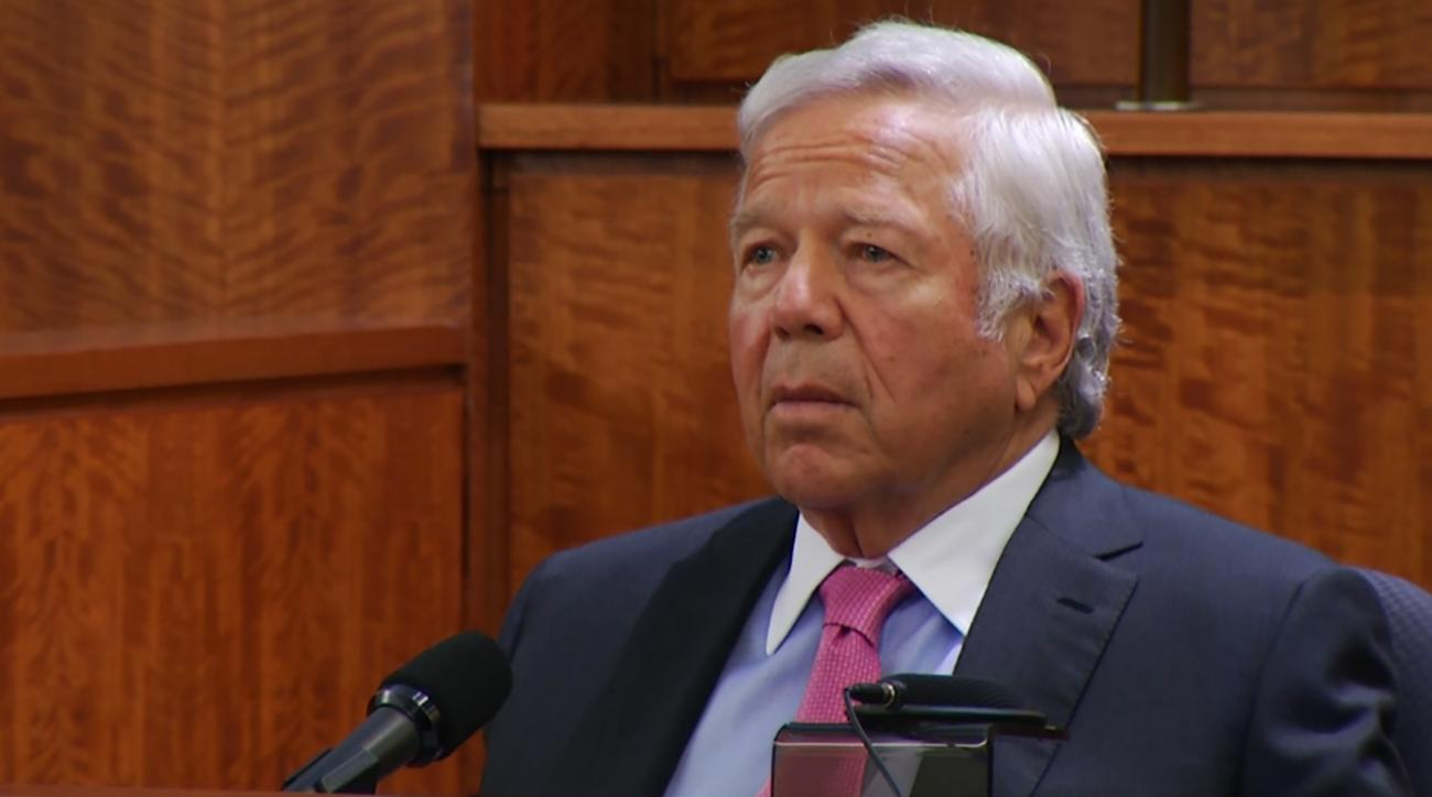 Robert Kraft testifies at Aaron Hernandez trial