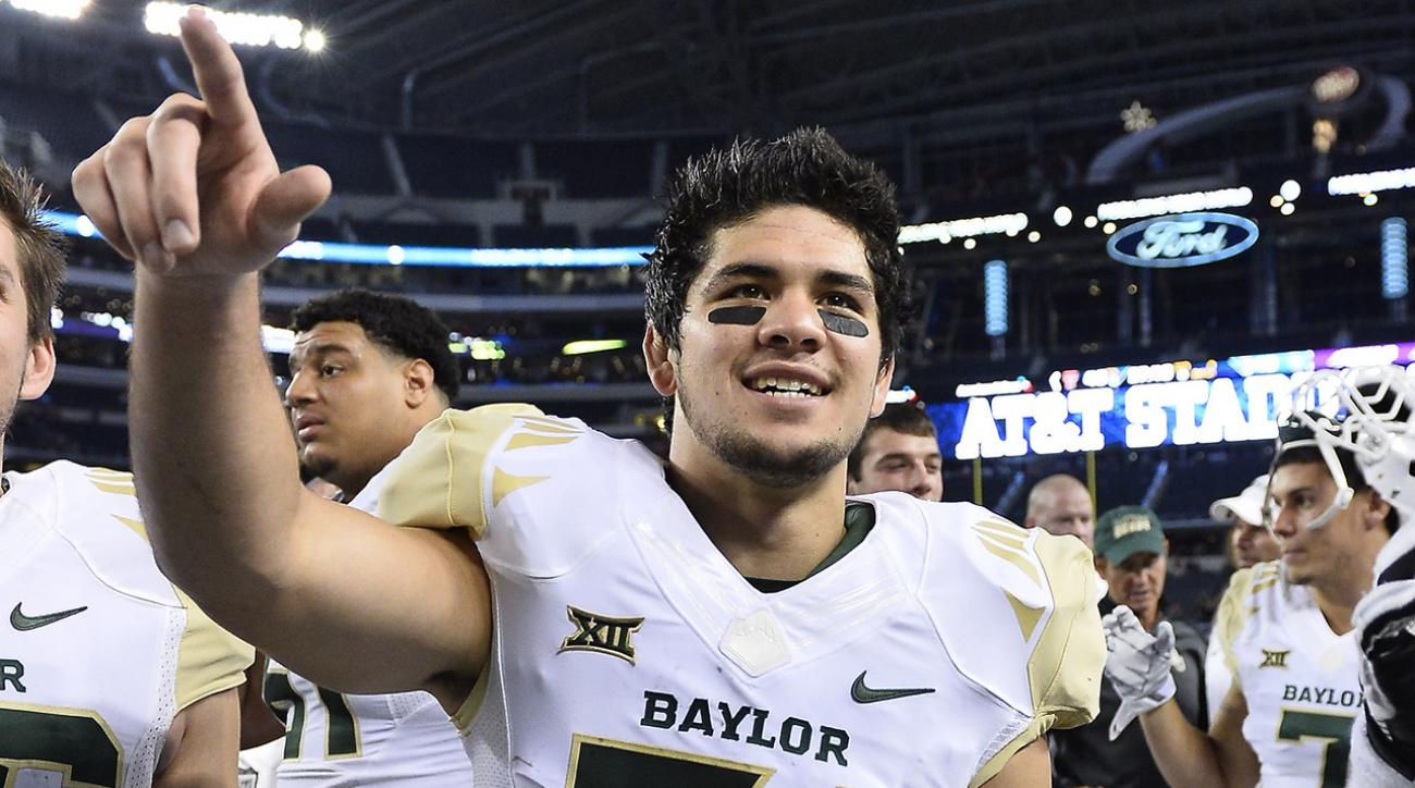 Once-homeless Baylor RB Silas Nacita ruled permanently ineligible