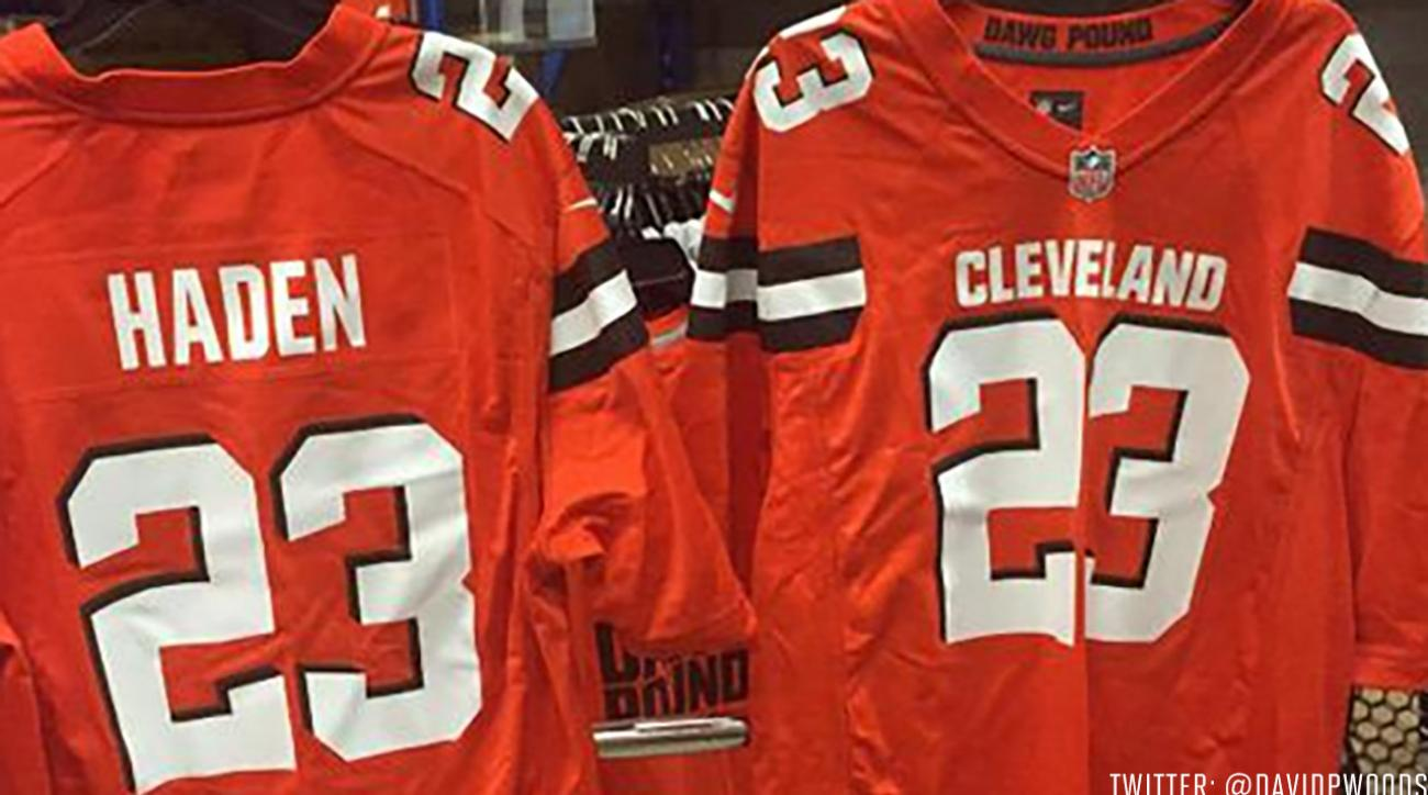 Browns new uniforms appear to be leaked