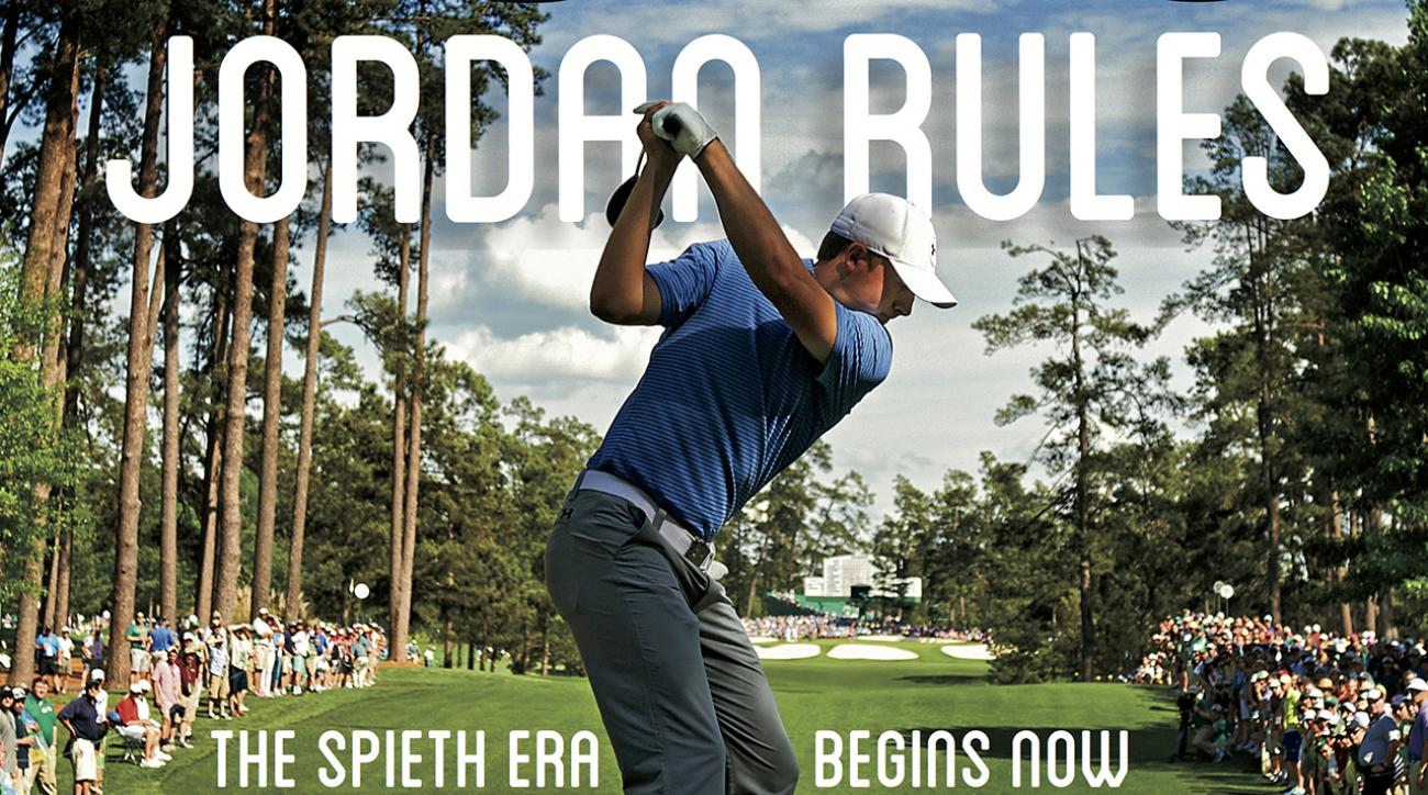Masters champion Jordan Spieth featured on this week's Sports Illustrated cover