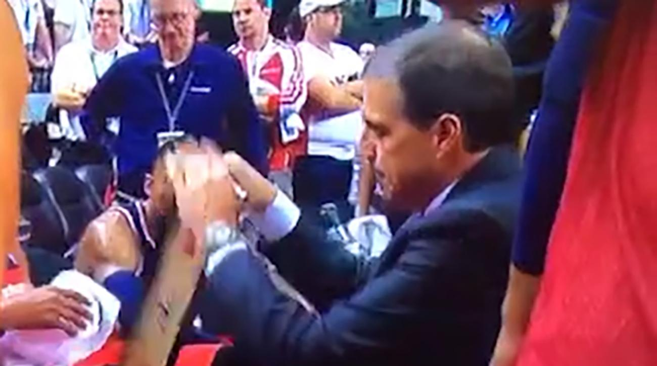 Watch: Wizards coach Randy Wittman struggles with dry-erase board