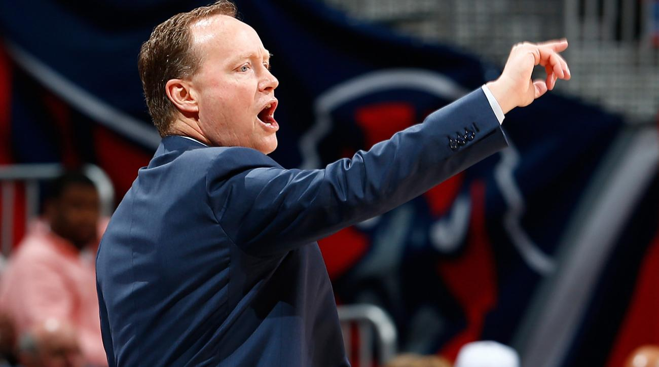 Atlanta Hawks' Mike Budenholzer named NBA Coach of the Year