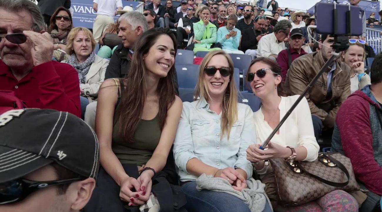 Selfie sticks will be banned from Wimbledon