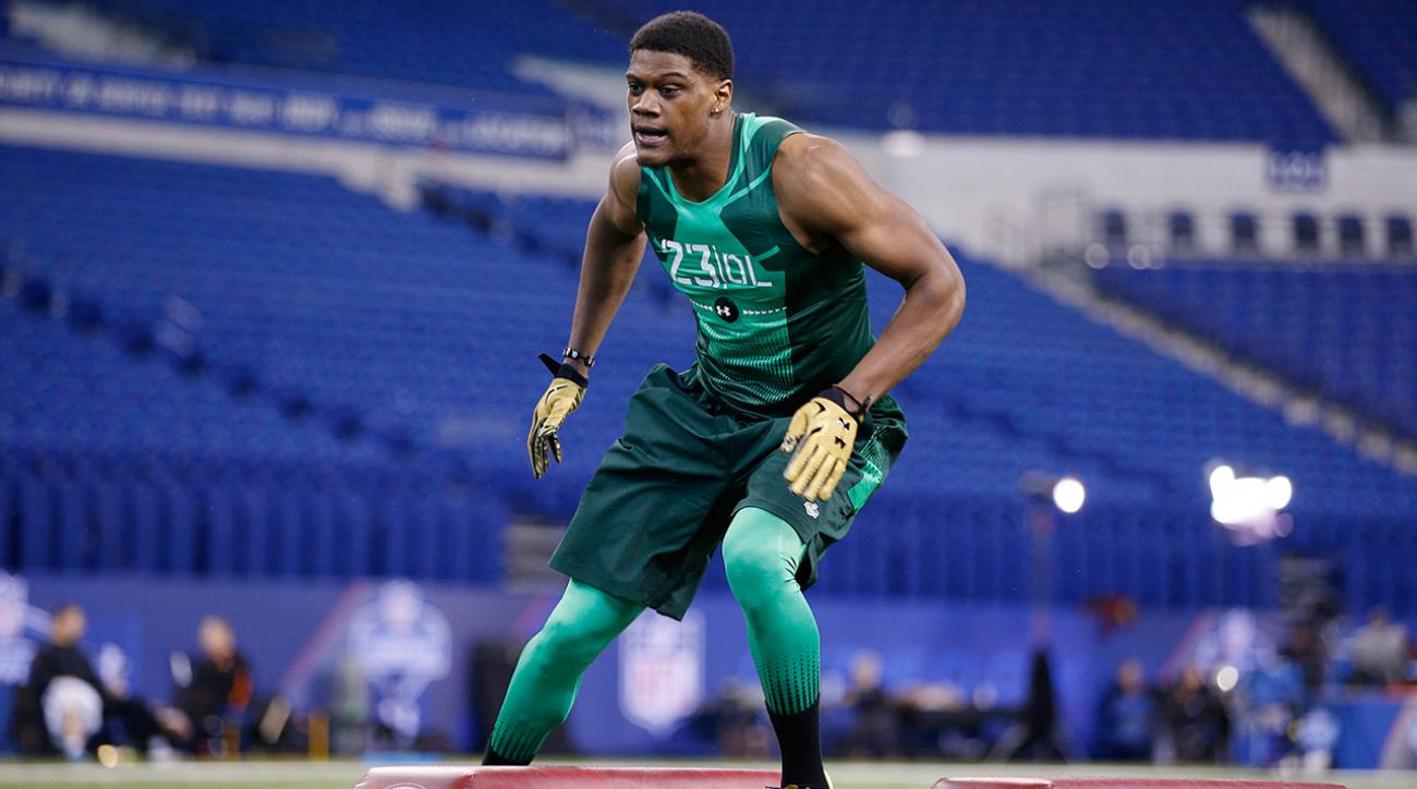 The biggest bust of the 2015 NFL draft, Randy Gregory potentially biggest bust of the NFL draft, Nebraska linebacker Randy Gregory