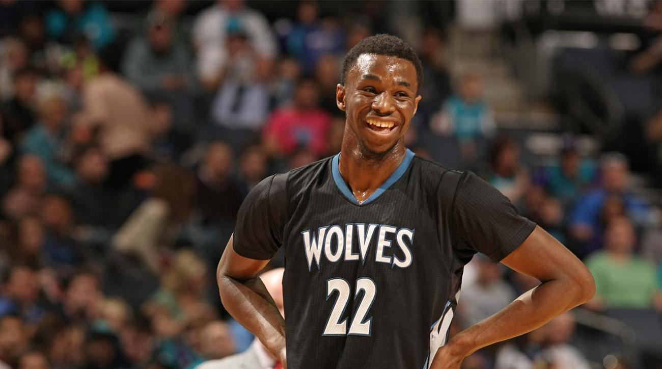 Minnesota Timberwolves' Andrew Wiggins wins Rookie of the Year IMAGE