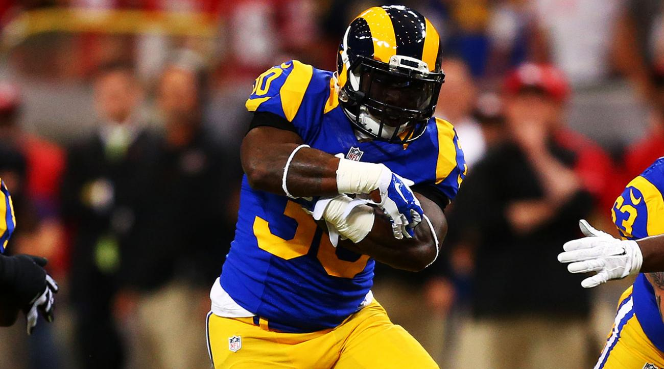 Report: Rams RB Zac Stacy will ask to be traded or released