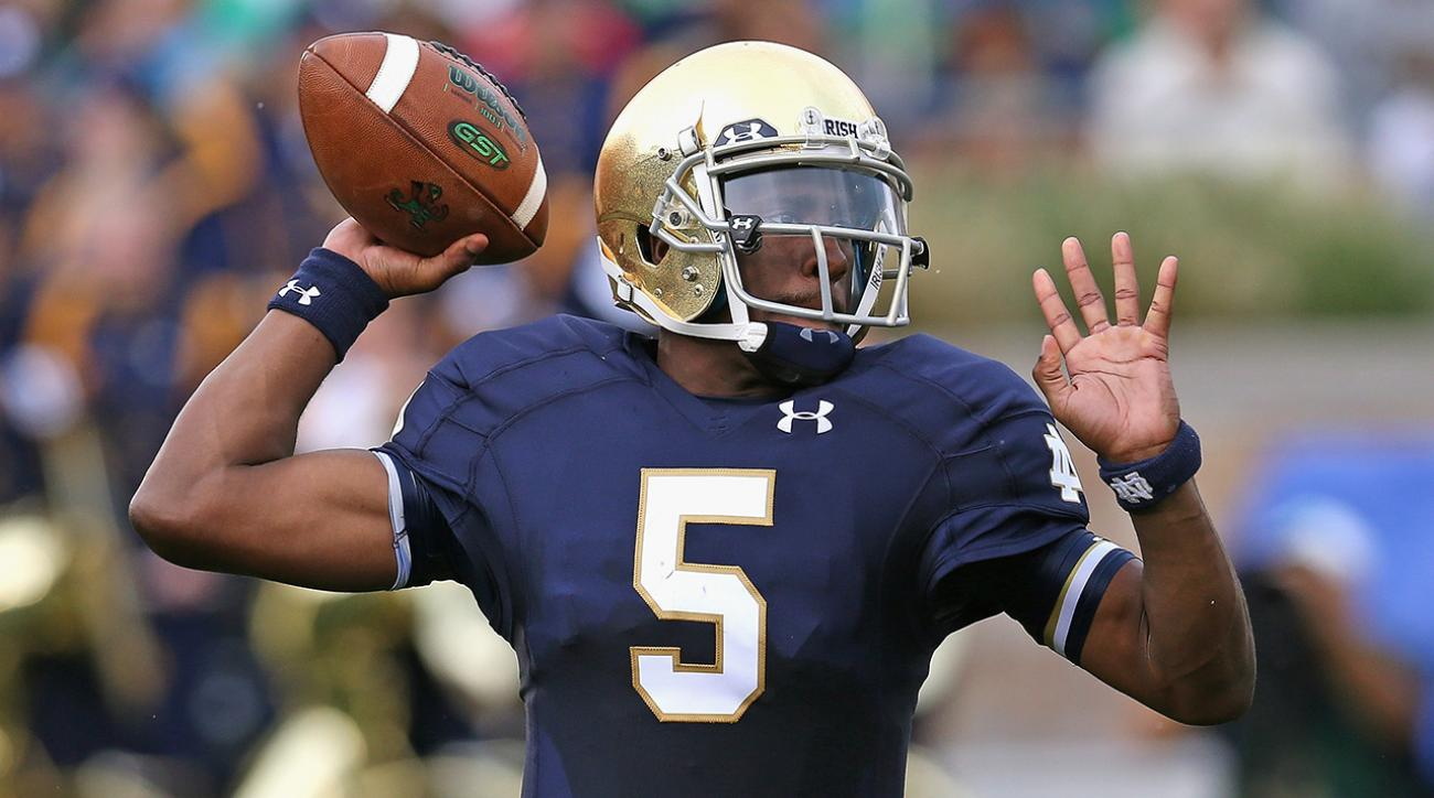 everett golson to transfer