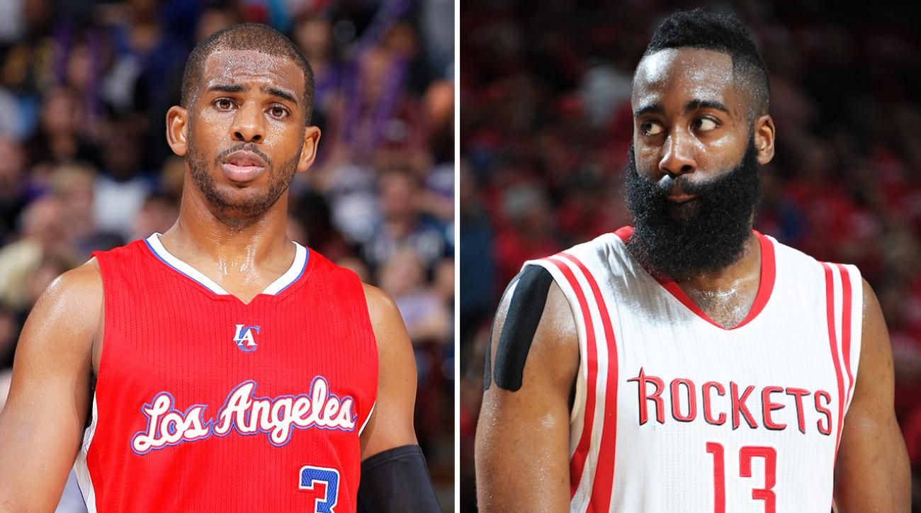 SI, si now, Is James Harden or Chris Paul facing the most NBA playoff pressure, Los Angele Clippers Chris Paul, houston rockets