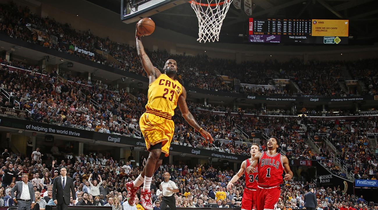 LeBron James helps Cavs edge out Bulls