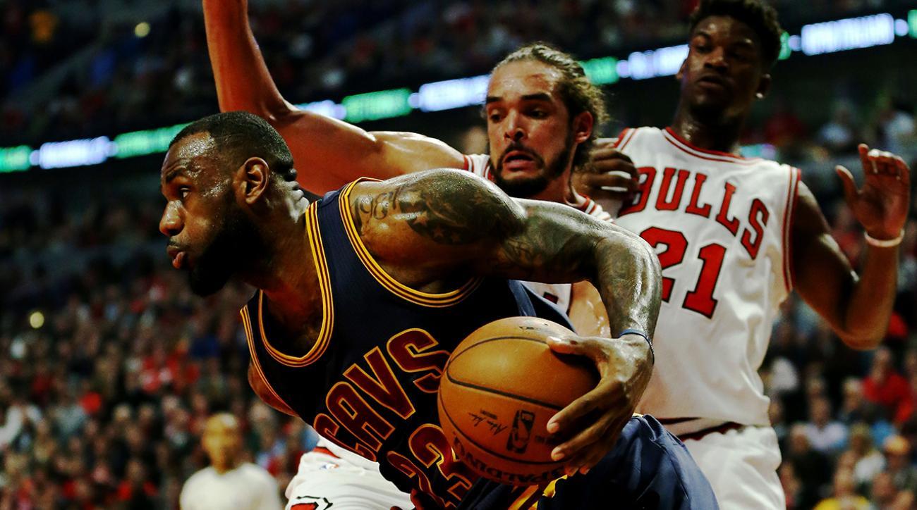 cavaliers beat bulls to advance