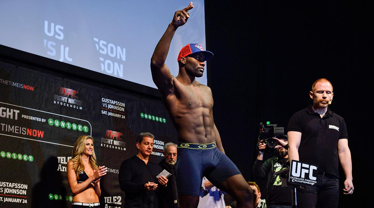 Chris Weidman, Anthony Johnson on upcoming matches, Anthony Johnson vs. Daniel Cormier, UFC fighters, MMA matches