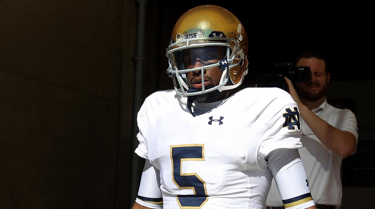 Notre Dame QB Everett Golson transferring to Florida State