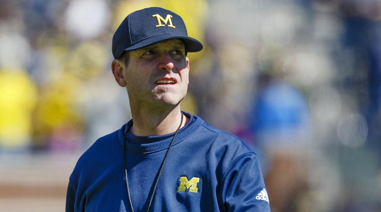 College football, jim harbaugh, michigan wolverines, sports illustrated