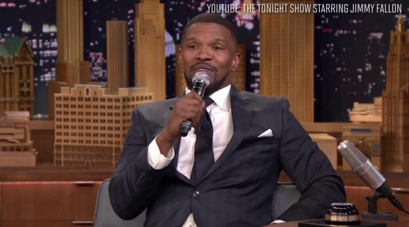 jamie foxx does clippers doc rivers