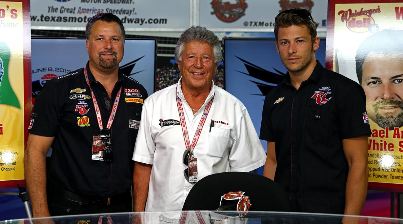 Indy 500: Mario, Michael and Marco Andretti address curse