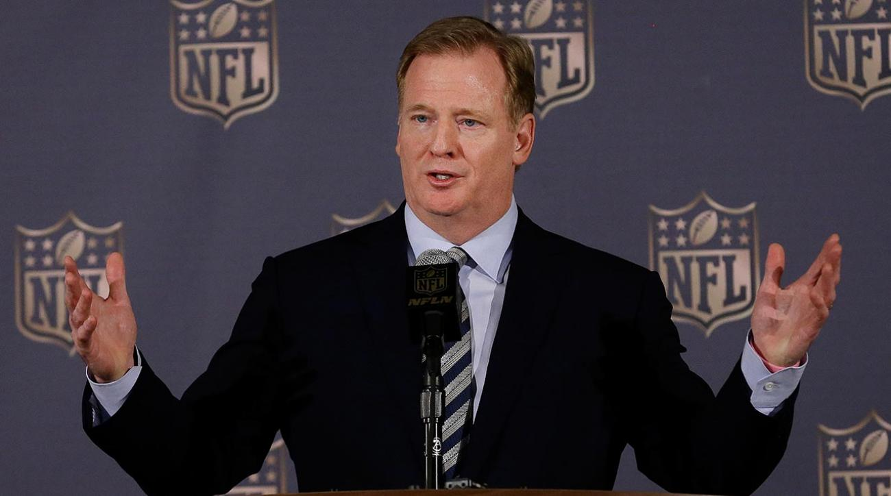 At spring meetings, NFL commissioner Roger Goodell weighs in on all things Deflategate