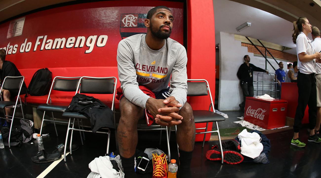 Cavaliers guard Kyrie Irving (knee) out for Game 2, questionable for Game 3