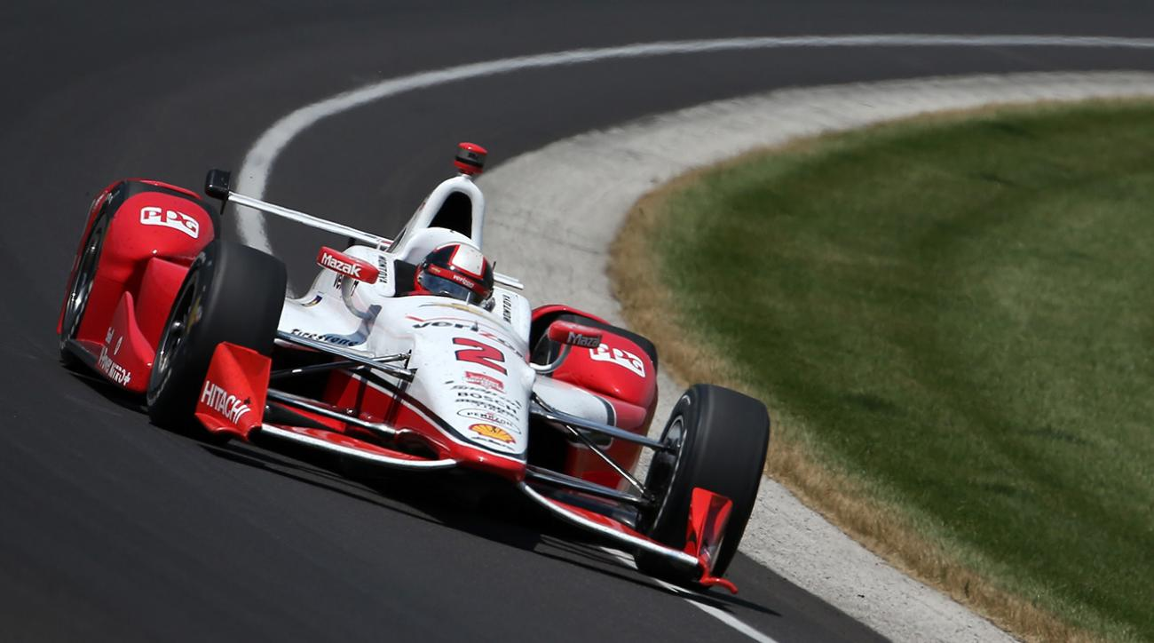 Juan Pablo Montoya wins 99th Indianapolis 500