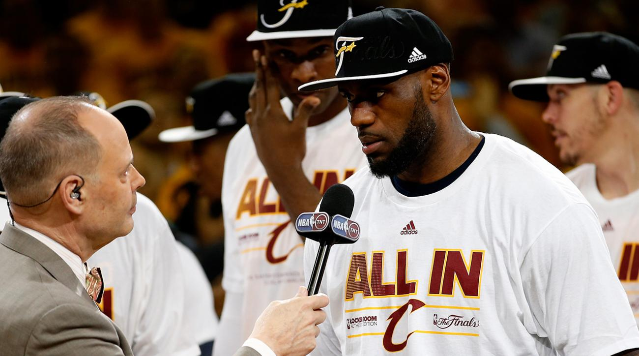Boomer: Lebron's playoff performance best in recent memory