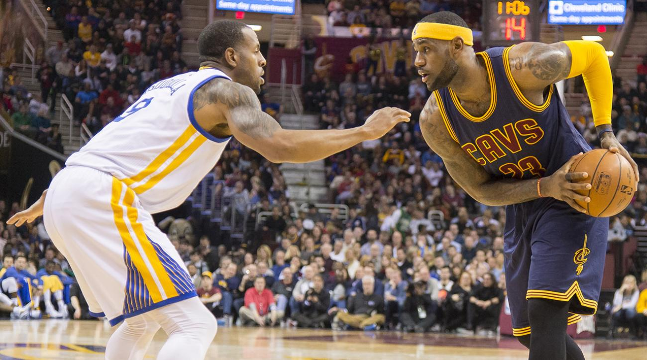 How would Warriors match up with LeBron James' Cavaliers?