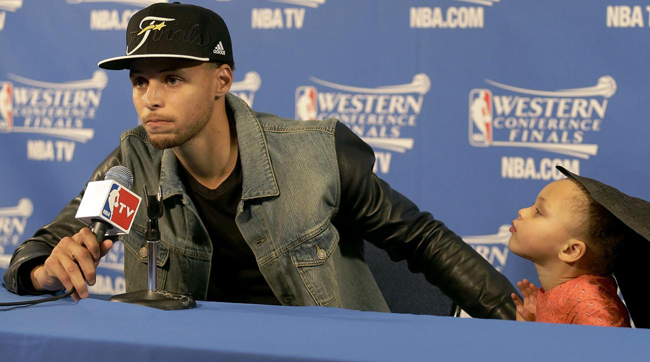 steph curry riley curry nba presser