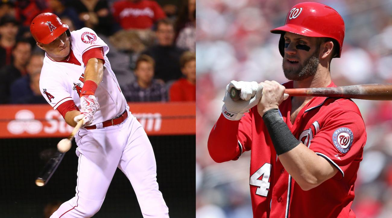 Boomer: Is Mike Trout really better than Bryce Harper?