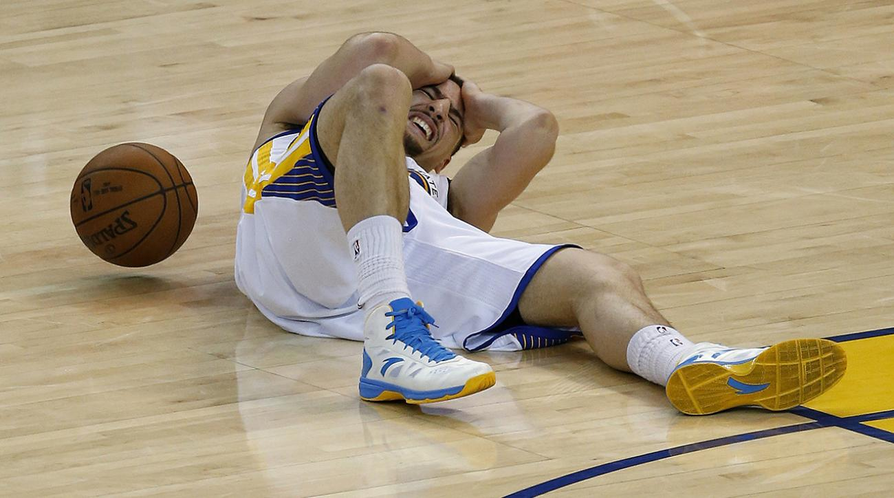 Agent: Klay Thompson doesn't have concussion