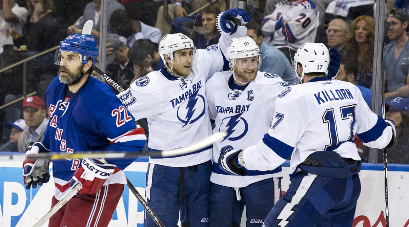 Tampa Bay Lightning defeat New York Rangers, advance to Stanley Cup Final
